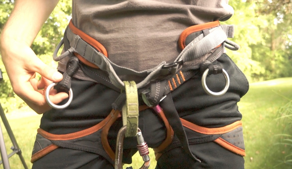 DIY – Convert a Cheap Rock Climbing Harness into a Tree Climbing Harness